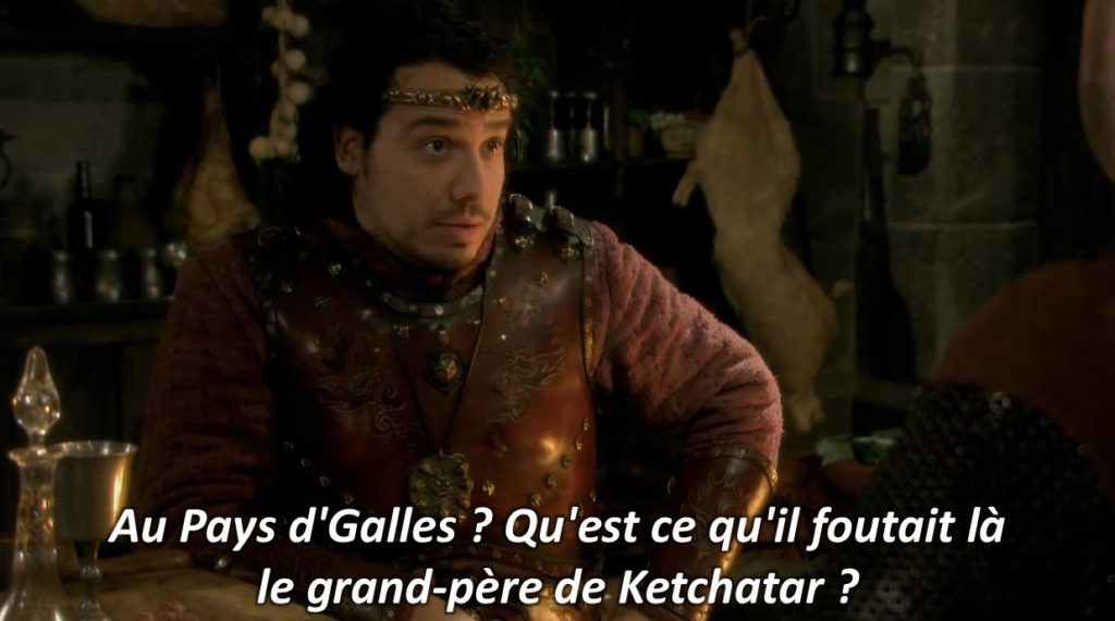 Kaamelott fan fiction arthur réplique