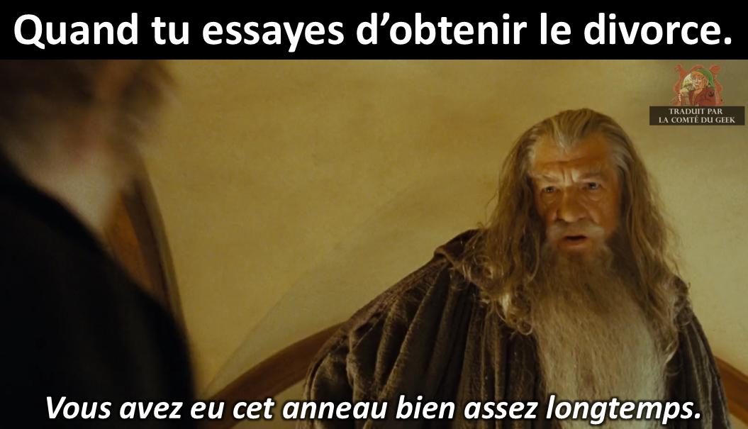 le seigneur des anneaux gandalf meme