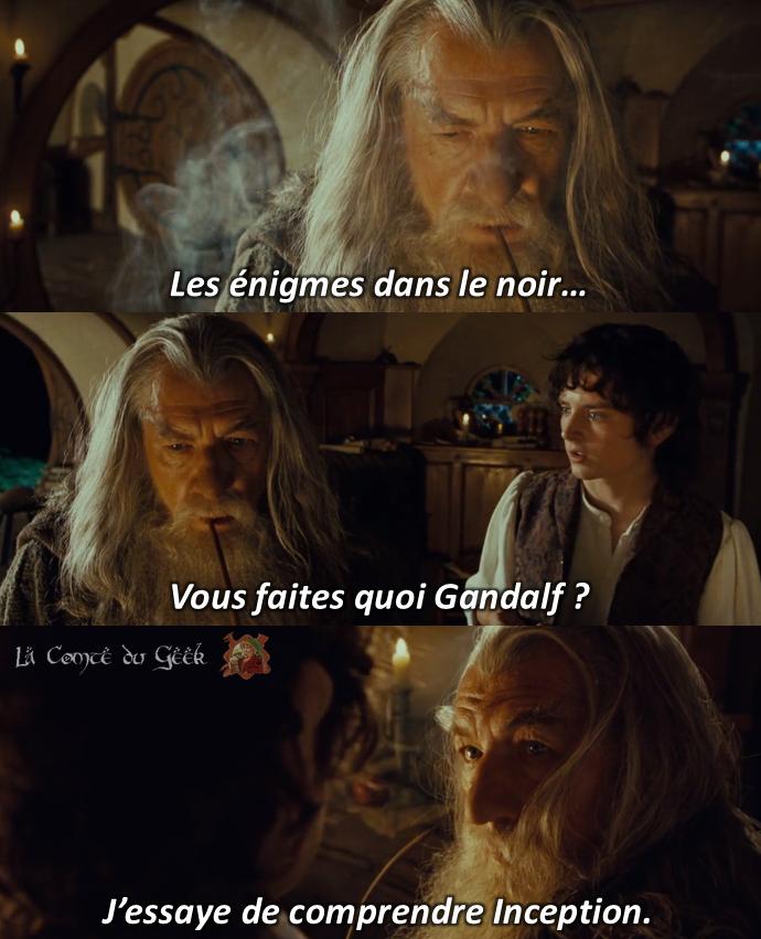 le seigneur des anneaux meme gandalf