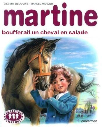 Martine Kaamelott humour cheval