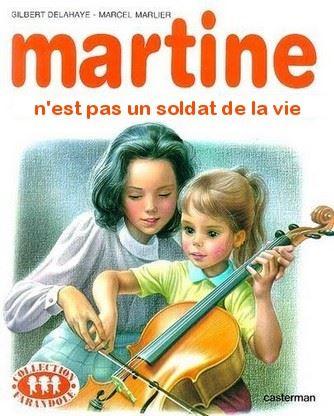 Martine Kaamelott humour soldat de la vie