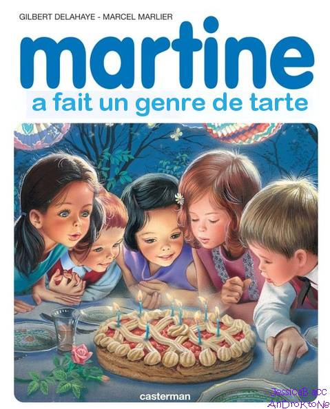 Martine Kaamelott humour un genre de tarte