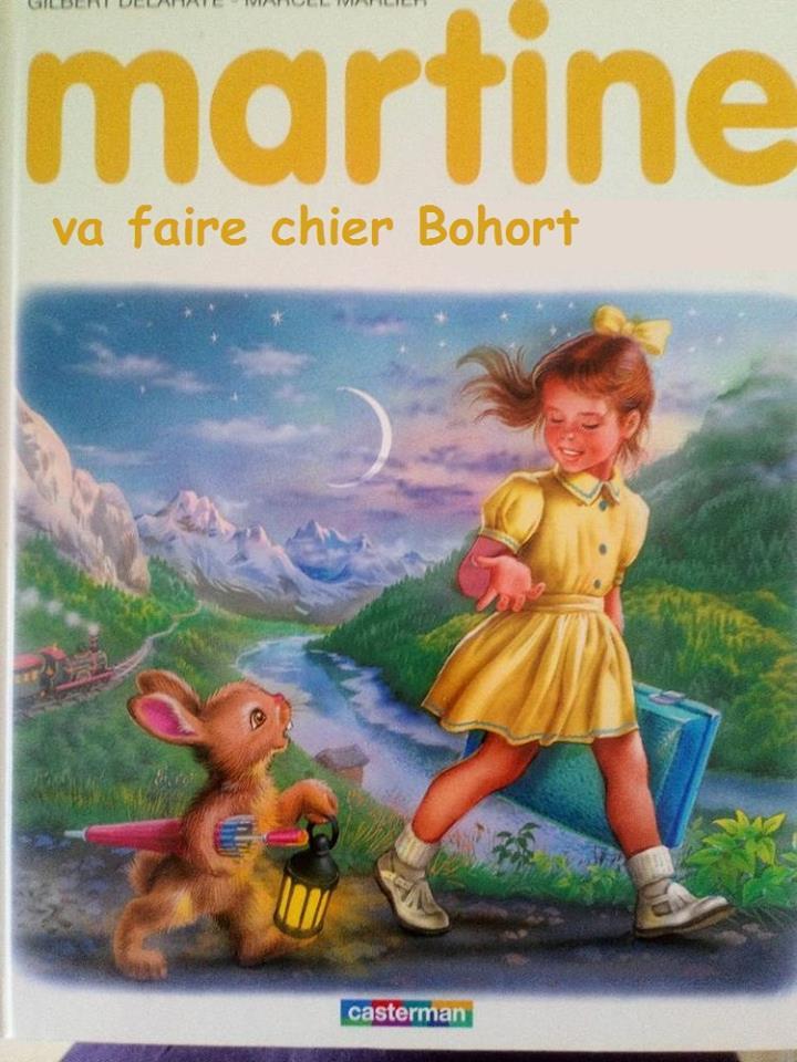 Martine Kaamelott humour bohort