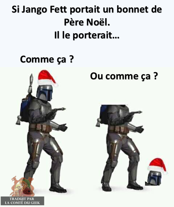 Star Wars meme Jango Fett humour noir