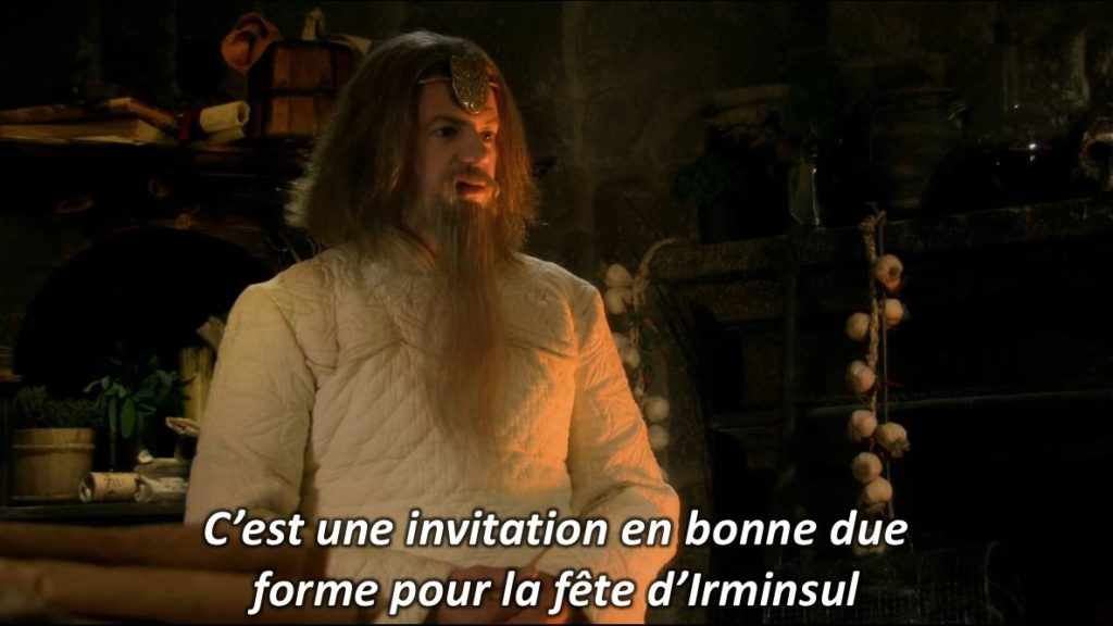 Merlin image texte non-officiel Kaamelott fan fiction