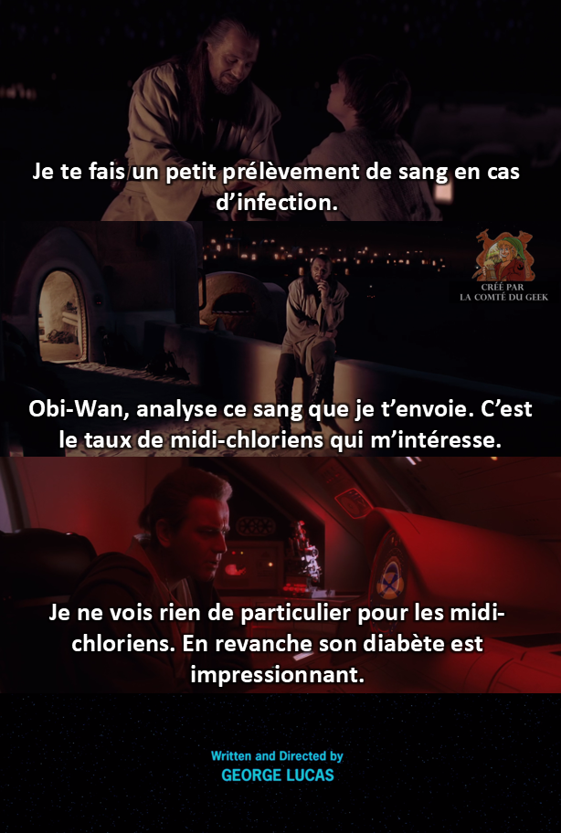 Star Wars fin alternative humour geek