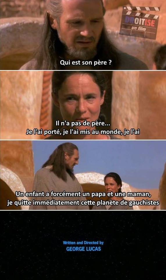 Star Wars meme Fin Alternative Qui-Gon