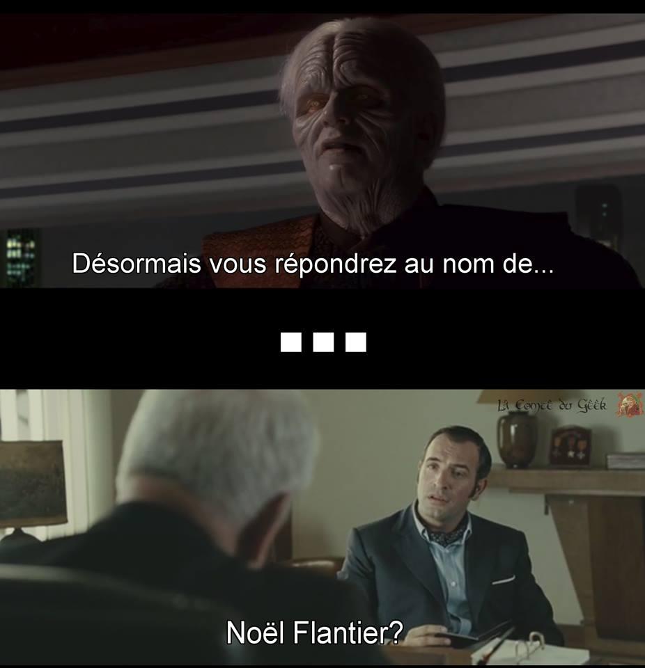Star Wars meme OSS 117 Noël Flantier