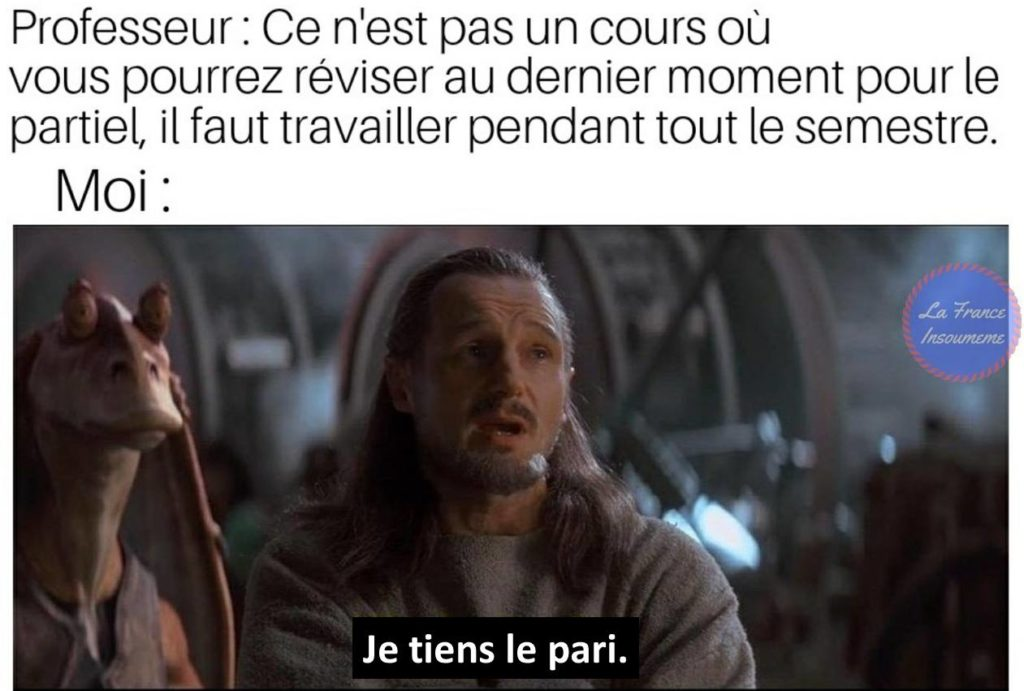 Star Wars meme Qui-Gon