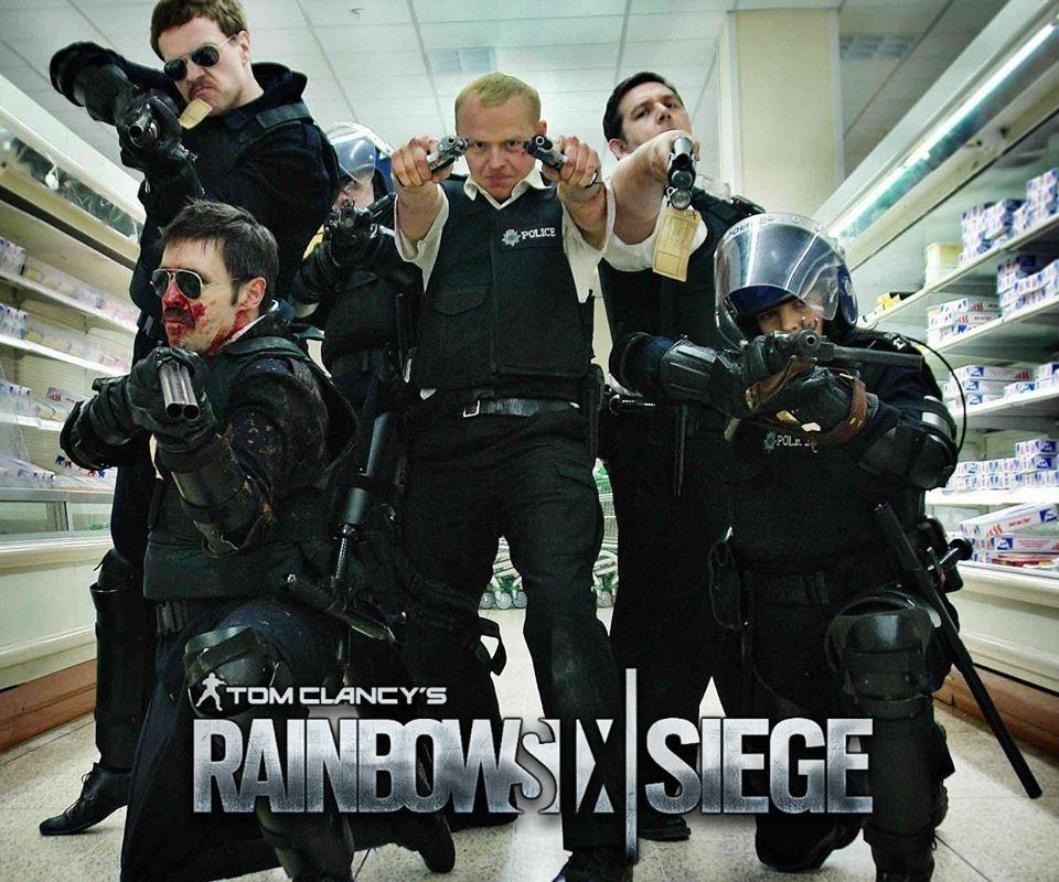 Hot Fuzz Rainbowsix siege