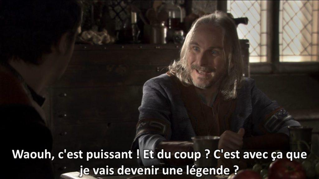 Kaamelot fan fiction Perceval Waouh, c'est puissant ! Et du coup ? C'est avec ça que je vais devenir une légende ?