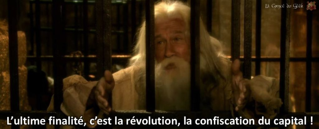 L'ultime finalité, c'est la révolution, la confiscation du capital !