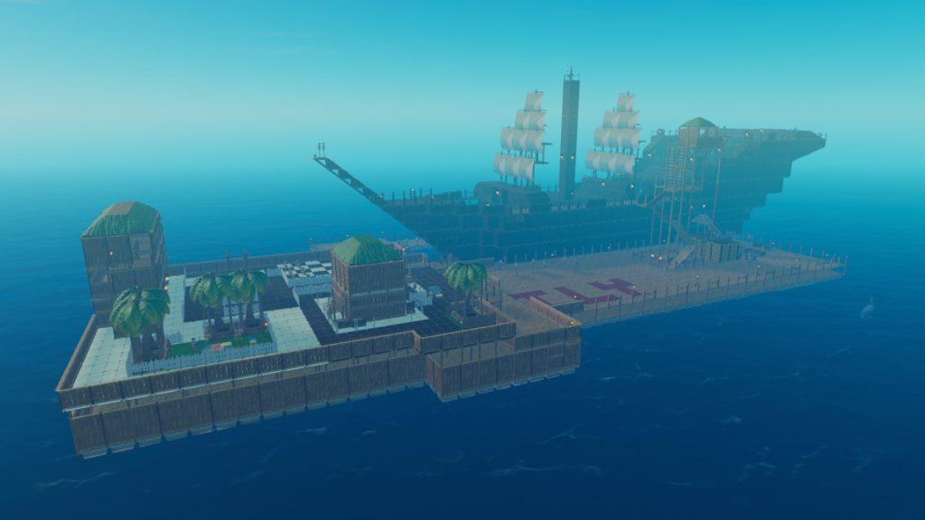 Raft Black Pearl jeu vidéo