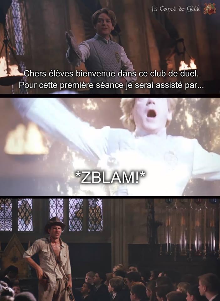 Indiana Jones Harry Potter meme