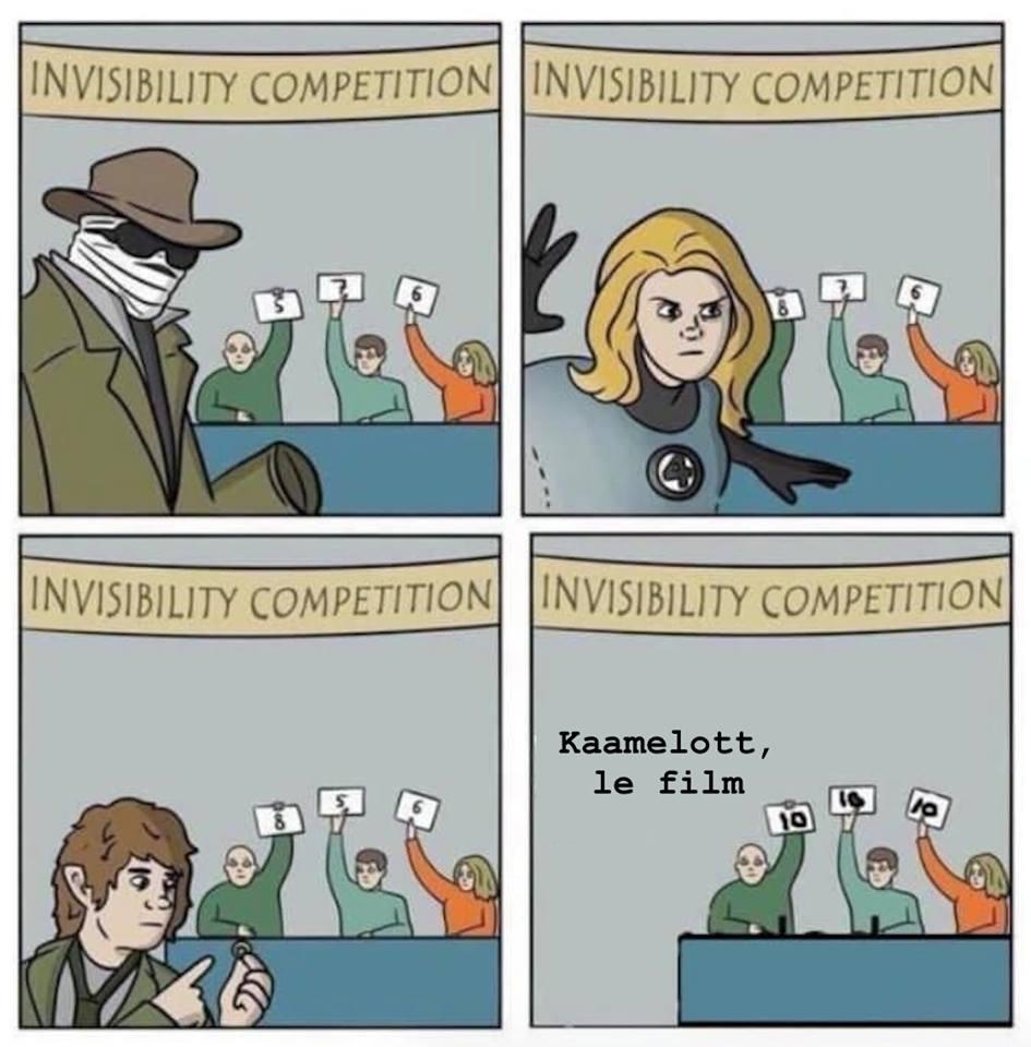 Kaamelott le film meme humour