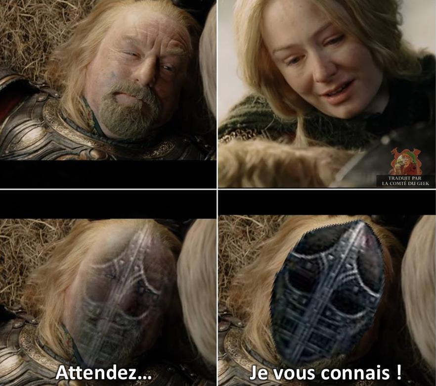 Le Seigneur des Anneaux Skyrim meme