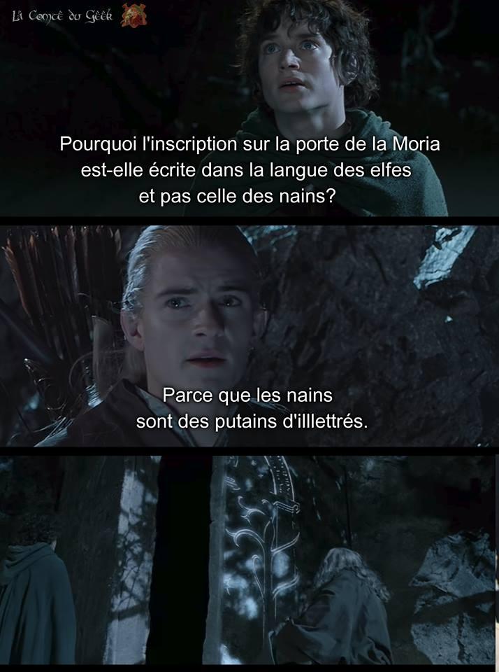 Le Seigneur des Anneaux meme humour