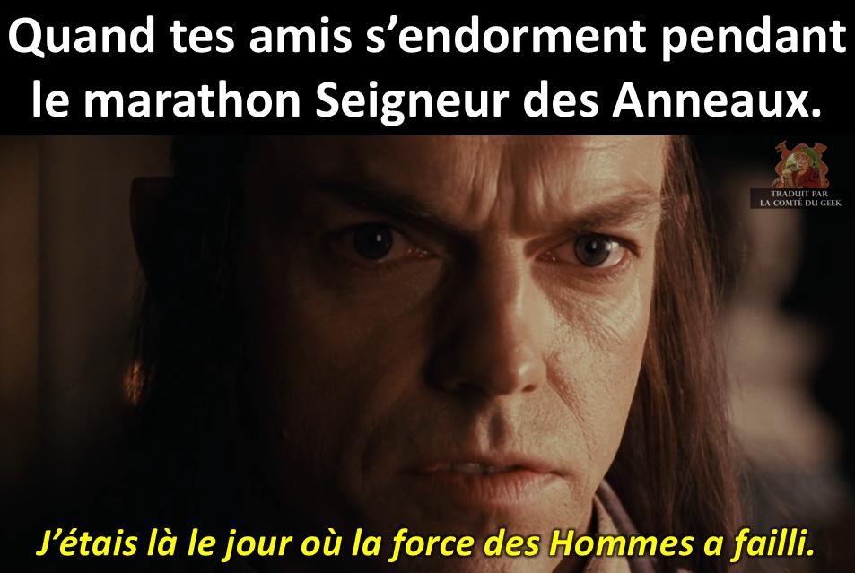 Le Seigneur des Anneaux marathon