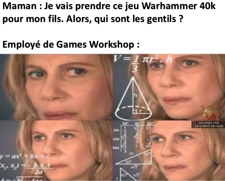 Meme warhammer 40k les gentils