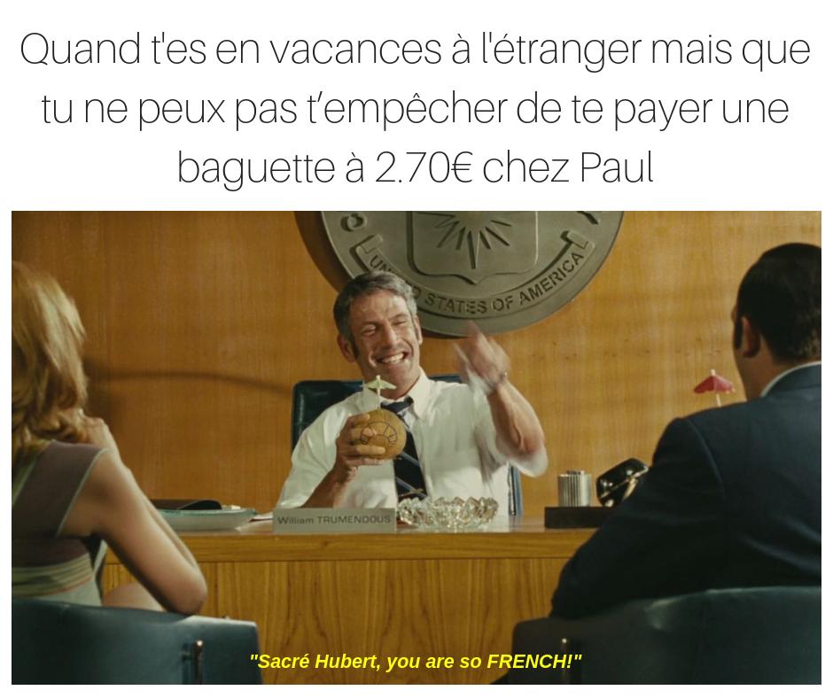 OSS 117 meme bill tremendous you're so french