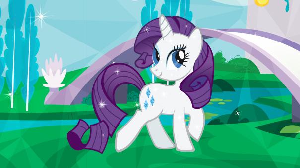 Rarity licorne mon petit poney