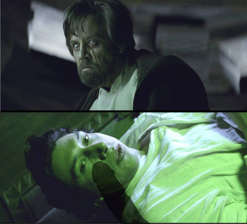 Star Wars Luke Skywalker Kylo Ren humour