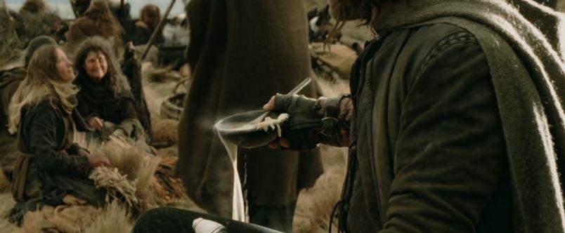 le seigneur des anneaux aragorn ragout