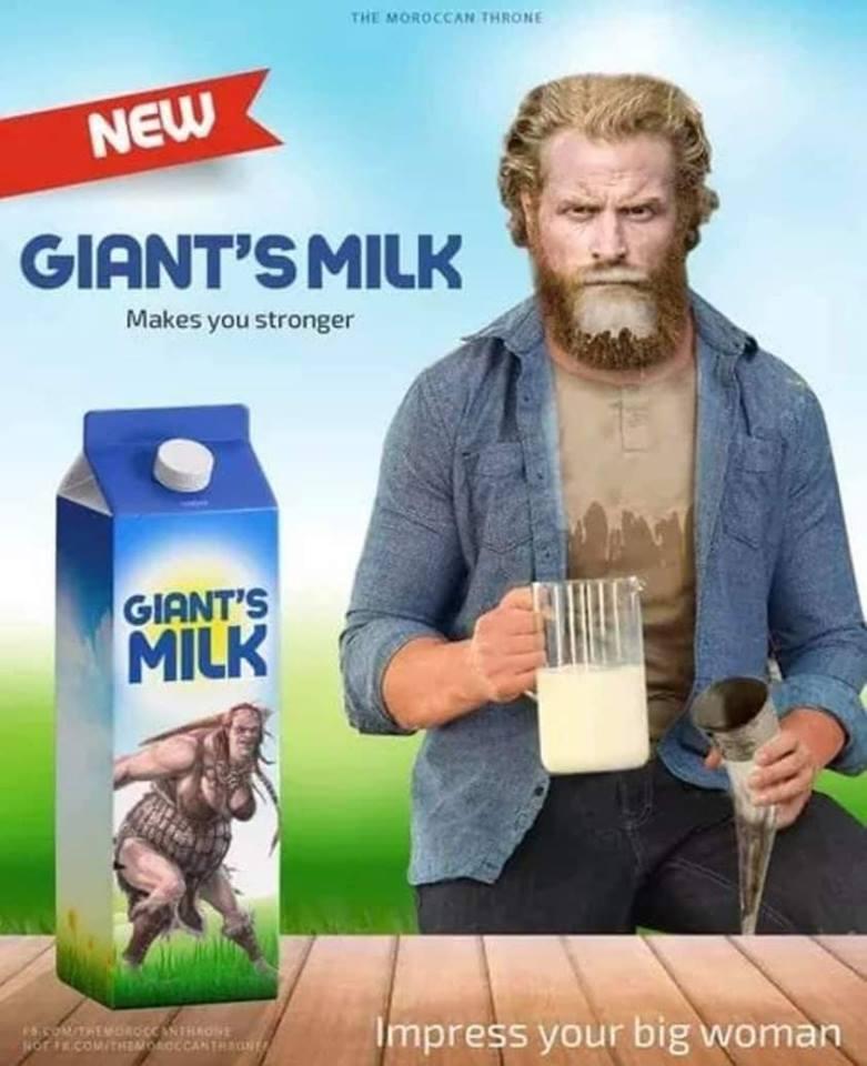 tormund giant milk