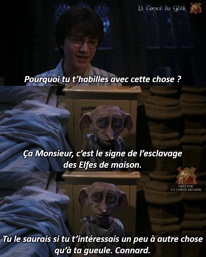 harry potter dobby elfe de maison