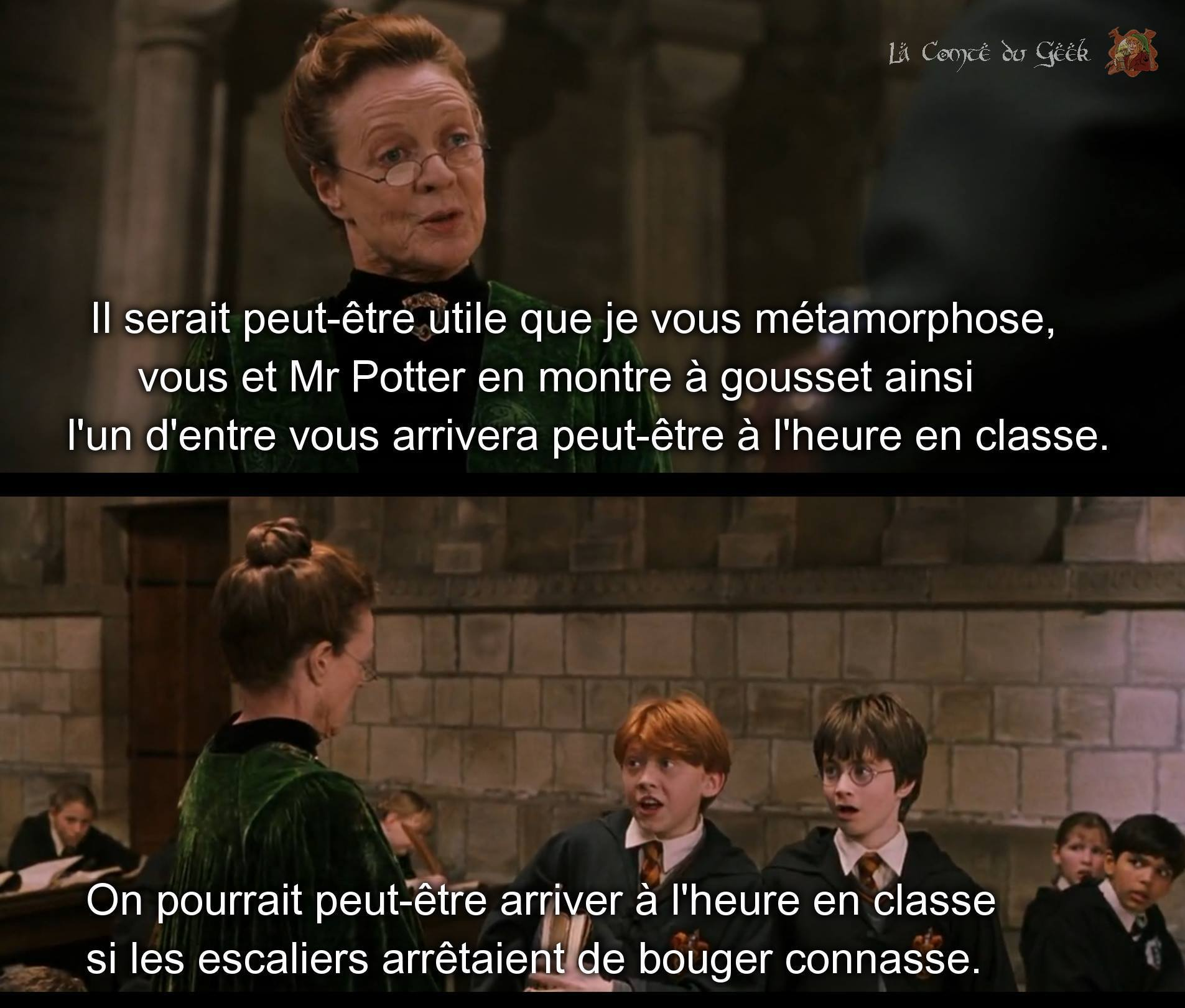 harry potter ron weasley mcgonagall